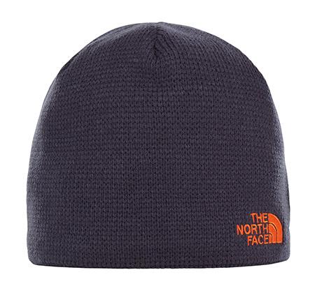 כובע צמר - כחול נייבי עם לוגו כתום