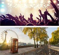 הופעה של האחת והיחידה אדל! 3 לילות בלונדון כולל טיסות ומלון וכרטיס להופעה החל מכ-£889*