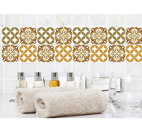 סט 4 מדבקות מעוצבות לקיר לקרמיקה מויניל לחדרי המטבח, אמבטיה, חדרי הבית ועוד במבחר דגמים - תמונה 8