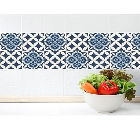 סט 4 מדבקות מעוצבות לקיר לקרמיקה מויניל לחדרי המטבח, אמבטיה, חדרי הבית ועוד במבחר דגמים - תמונה 5