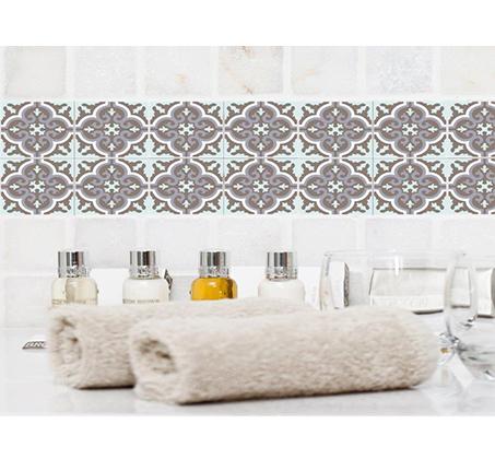 סט 4 מדבקות מעוצבות לקיר לקרמיקה מויניל לחדרי המטבח, אמבטיה, חדרי הבית ועוד במבחר דגמים - תמונה 2