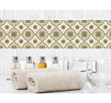 סט 4 מדבקות מעוצבות לקיר לקרמיקה מויניל לחדרי המטבח, אמבטיה, חדרי הבית ועוד במבחר דגמים - תמונה 6