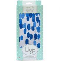 חיתול טטרה במבוק כתמים כחול - Lulujo
