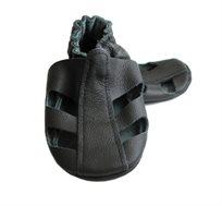 סנדלי טרום הליכה מעור Ebooba By Premium Baby יוניסקס בצבע שחור
