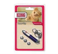 חתולייזר! משחק לייזר לחתול Kong, צעצוע אינטראקטיבי המפעיל את החתול כמו שהוא אוהב