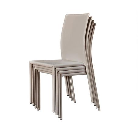 כיסא לפינת אוכל בריפוד דמוי עור קשיח ועמיד BRADEX - תמונה 3