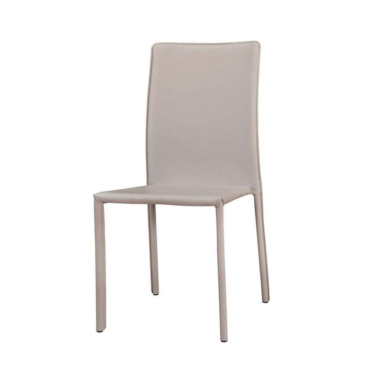 כיסא לפינת אוכל בריפוד דמוי עור קשיח ועמיד BRADEX - תמונה 2