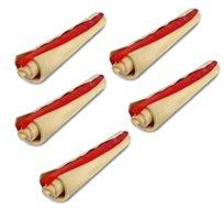 """5 סיגרים רול דנטלי לכלב 12.5 ס""""מ בטעם וניל"""