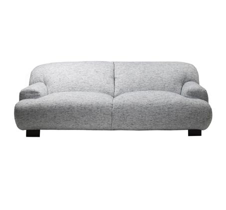 ספה בעיצוב מודרני בצבע אפור דגם פילה