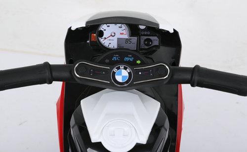 אופנוע מיני 6V לילדים בדמות BMW RR1000 - כחול TWIST - משלוח חינם - תמונה 3