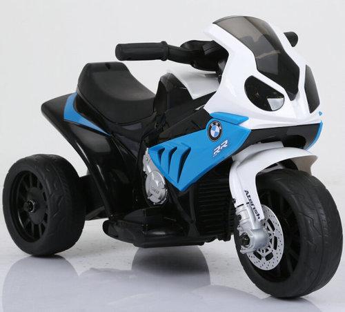 אופנוע מיני 6V לילדים בדמות Bmw Rr1000 - כחול Twist