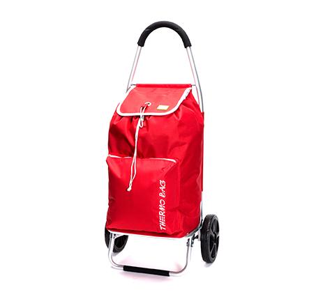 עגלת קניות food appeal גוף אלומיניום עם כיס תרמי TO GO  - תמונה 4