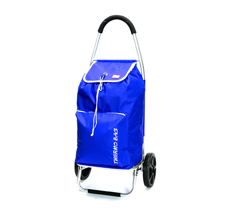 עגלת קניות food appeal גוף אלומיניום עם כיס תרמי TO GO  - תמונה 3