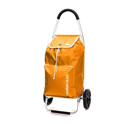 עגלת קניות food appeal גוף אלומיניום עם כיס תרמי TO GO  - תמונה 2