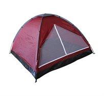 אוהל BASIC המתאים ל-2 אנשים בעל כניסה רחבה הכוללת רשת נגד יתושים CAMPTOWN