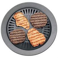 מחבת גריל לצלייה איכותית של חצילים, בשר ועוד, ללא עשן ולכלוך