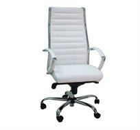 כיסא מנהלים מתכוונן בריפוד דמוי עור איכותי דגם REVE