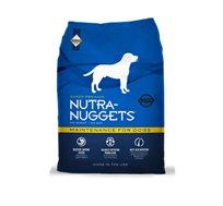 מזון NUTRA NAGGETS לכלב בוגר + חטיף מתנה