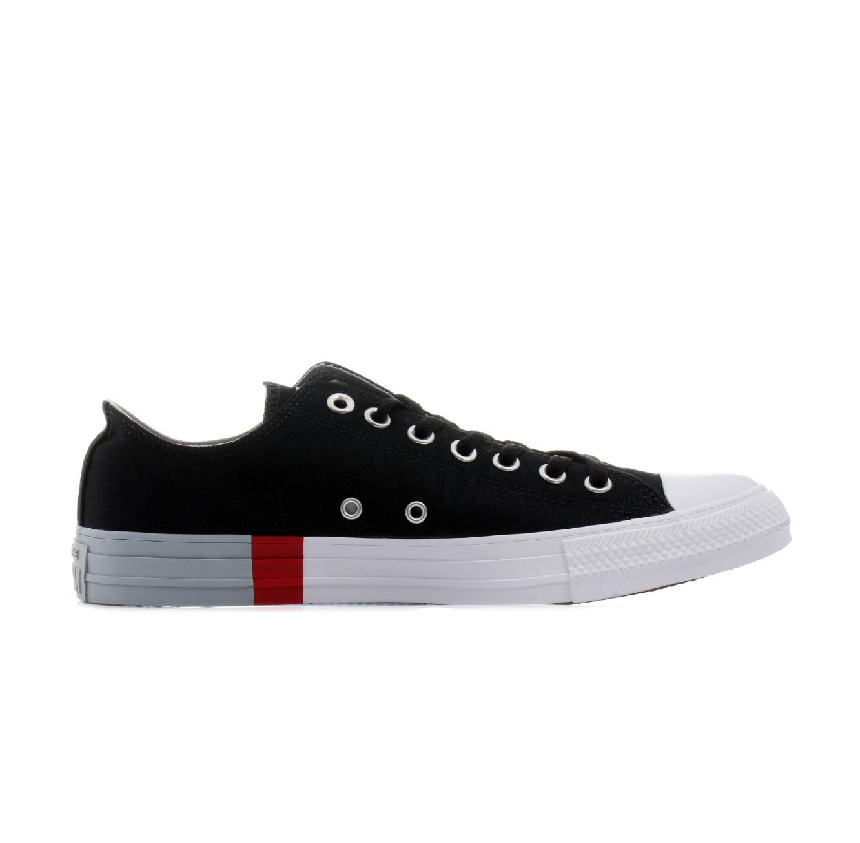 נעלי סניקרס All Star נמוכות לגברים - שחור