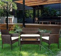 סט ישיבה לגינה Homax דמוי ראטן דגם נקסוס