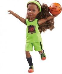 בובת ג'וי אלופת הכדורסל עם סט ביגוד