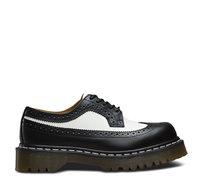 נעלי DR MARTENS - 3989 BROGUE בצבע שחור לבן
