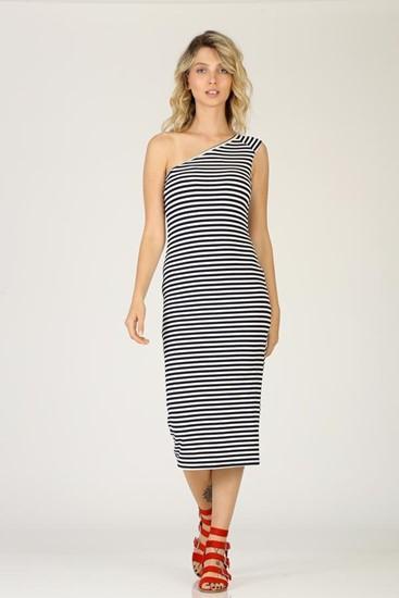 שמלה כתף אחת