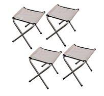 סט 4 כיסאות ים מתקפלים