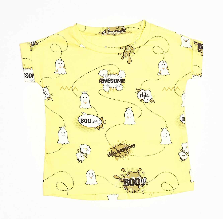 חולצה טי שירט BOO comics לתינוק - צבע לבחירה