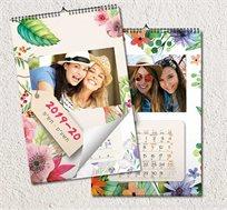 לוח שנה ספירלה מעוצב בגודל A3 עם תמונות אישיות לבחירתכם