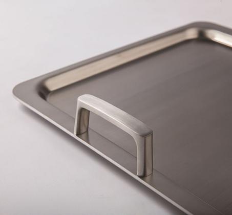 פלטת פלנצ'ה לצלייה עשויה נירוסטה בגימור סאטן מבריק BERGHOFF - משלוח חינם - תמונה 5