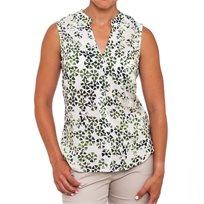 חולצת וואל גורגי ירוק לבן