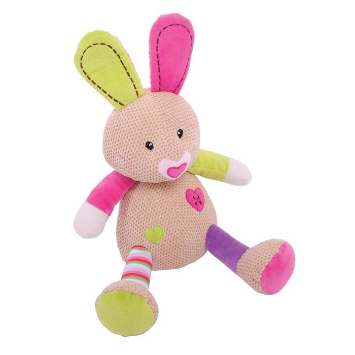 בובה רכה לתינוק - בלה הארנבת גדולה