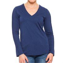 חולצת לורן כחולה