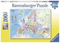 פזל 200 מפת אירופה