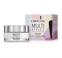 קרם עיניים Careline - MULTI EFFECT SPF 25