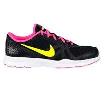 נעל ספורט נייק נשים דגם NIKE WOMEN קלת משקל, משולבת לריצה והליכה ממושכת בצבע שחור ורוד
