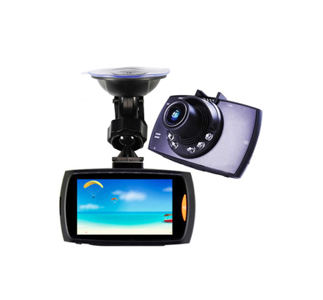 מצלמת דרך לרכב עם צג LCD גדול ומואר כולל לדים IR בחזית המצלמה לצילום בתנאי חושך - תמונה 2