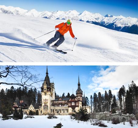 טסים ל-3 עד 4 לילות ברומניה באתר הסקי פויאנה ברשוב כולל מלון ורכב לכל התקופה החל מכ-€399*