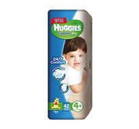5 חבילות חיתולי Huggies Freedom Dry הגנה מתקדמת לעור התינוק שלך