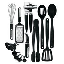 סט הכלים האולטימטיבי למטבח מבית המותג KitchenAid. לבחירה 15/17 חלקים