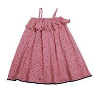 שמלה חגיגית לילדות Minene בצבע ורוד קורל
