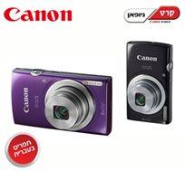 חדש! מצלמת 145 IXUS מבית Canon בעלת 16 מגה פיקסל, זום אופטי X8, צילום וידיאו באיכות HD ותפריט בעברית