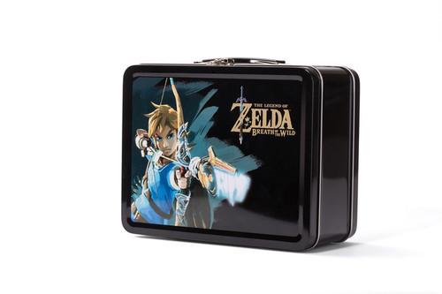 The Legend Of Zelda Collectible Lunchbox Kit For Nintendo Switch קופסת אספנים זלדה