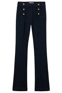 """ג'ינס מתרחב """"Donna"""" של PROMOD - כחול כהה"""