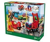 בריו Brio סט רכבת הצלה