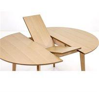 שולחן אוכל עגול עם פתיחת פרפר אמצעית מתאים עד ל-8 סועדים דגם רונדו שמרת הזורע