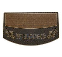 שטיח כניסה לבית דגם וינס ברונזה WELCOME