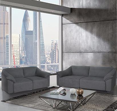 מערכת ישיבה תלת מושבית 2+3 מרופדת בד עשויה שלדת עץ מלא דגם ולנסיה LEONARDO - תמונה 3