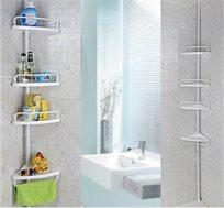 מתקן פינתי לאמבטיות ומקלחות Corner Shelf